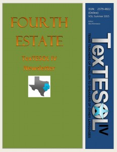 Fourth Estate Summer 2015 ISSN 2379-4822 Cover Page